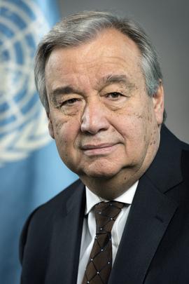 Generalni sekretar OZN António Guterres (Vir: UN Photo/Mark Garten)