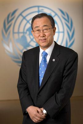 Generalni sekretar OZN Ban Ki-mun (Vir: www.un.org/sg)