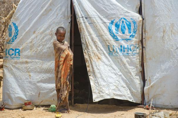 Begunski kamp v Etiopiji, Afrika (Vir: UN Photo/Eskinder Debebe)