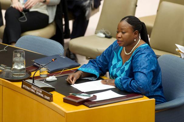 Generalna tožilka Mednarodnega kazenskega sodišča (ICC) Fatou Bensouda (Vir: UN Photo/Evan Schneider)