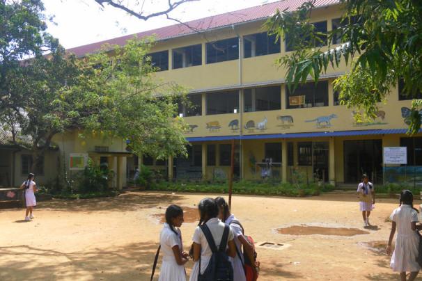 Obnovljena šola na Šrilanki (Vir: Ministrstvo za zunanje zadeve)