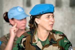 V mirovnih operacijah OZN sodeluje vse več žensk (Vir: UN Photo/Marie Frechon)